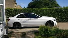 Selling Mercedes c class (w205) 18inch amg alloys with tyres