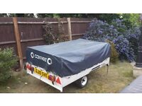 Conway trailer tent sleeps 4 in good condition