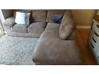 Wonderfull and cared for L-shaped Sofa