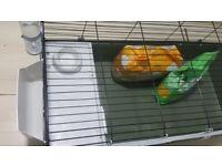Ferplast 120 Rabbit/Guinea Pig Indoor Cage + FREE Accessories*