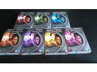 Star Trek Deep Space 9 season 1-7 dvd complete series nine ds9