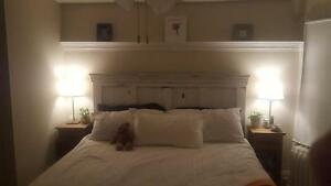 COTTAGE CHIC CUSTOM HEADBOARDS/FOOTBOARDS