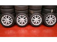 Renault Genuine 16 alloy wheels + 4 x tyres 195 50 16