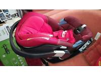 Cybex aton 3 car seat with isofix base