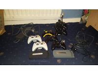 Xbox 360 Accessories Bundle (Official Controller, HDD, Headphones, Charging Stand, Power Lead)