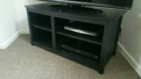 BLACK TV STAND/UNIT