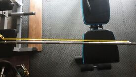 """STRONG 200cm Barbell 1"""""""