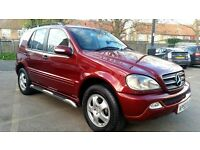 Mercedes-Benz M Class 2.7 ML270 CDI 5dr 7 SEATER
