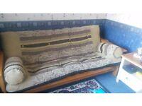 Futon Type Duble Sofa Bed