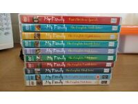 MY FAMILY DVDS