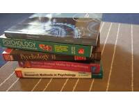Books for Psychology BSc degree university