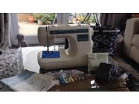 Brother PS-33 sewing machine. Recently serviced. Comes with operating manual/carrying case