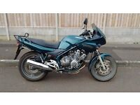 Yamaha Diversion XJ600S, 28150 miles, year 2000
