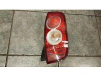 2005 NISSAN MICRA K12 HATCHBACK TAIL LIGHT DRIVER OFF SIDE DIESEL + PETROL
