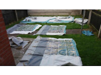 For Parts / Repair. Trio Family Caravan Awning (please read description)