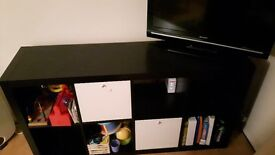 Ikea KALLAX shelf unit black