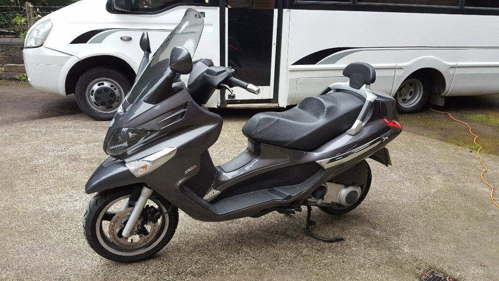 Piaggio Xevo 250 2009 Full Years Mot In Lesmahagow