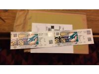 2 Tickets New Orleans Saints vs Miami Dolphins, NFL Wembley