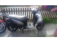 125cc cheap moped racing tuned
