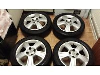 Vauxhall Corsa Alloy Wheels, Tyres, Locking Bolts