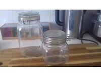 Glass Storage Jars For Sale - 18 used