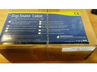 DIGISNAKE -XLRM CABLE #MH081 BRAND NEW