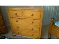 *** CHEST of DRAWERS - SOLID WOOD