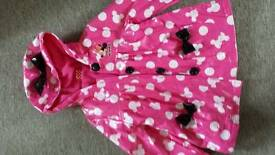 Minnie Mouse coat age 3-4