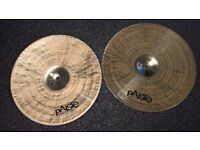 "Paiste twenty custom full 14"" hi hats"