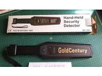 Gold Century Handheld Security Metal Detector Wand Hand Held Scanner
