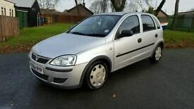 Vauxhall corsa 1.0L petrol full mot full Service history only 65k