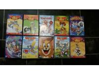 DVDs for kids (Tom&Jerry)-10pcs for only £7.10!