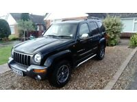 Jeep Cherokee kj extreme sport automatic limited edition