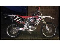 Honda CRF450R 2008 sale or swap why??