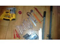 Power and hand tools (job lot)