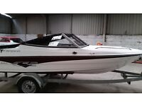 Speed boat Campion Allante 485 SD, NEW! Trailer.