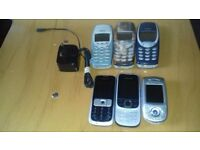 JOBLOT OF MOBILE PHONES FOR SALE.