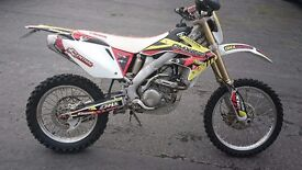 2014 Honda CRF250x Enduro PX any bike and delivery possible