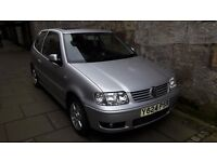 VW POLO 1.4 2Dr. Lady Owner. Low mileage for year.
