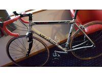 Specialized allez road racing bike carbon forks