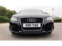 2011 Audi A3 2.0 TDI S Line Sportback Diesel 5dr,Sat Nav,Leather seats,Alloys Rim, HPI Clear