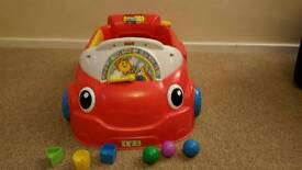 SOLD Fisher Price Laugh and Learn Car
