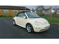 Vw beetle convertible 1.6 bug private plate