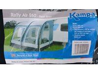 Kampa 260 Rally Air awning