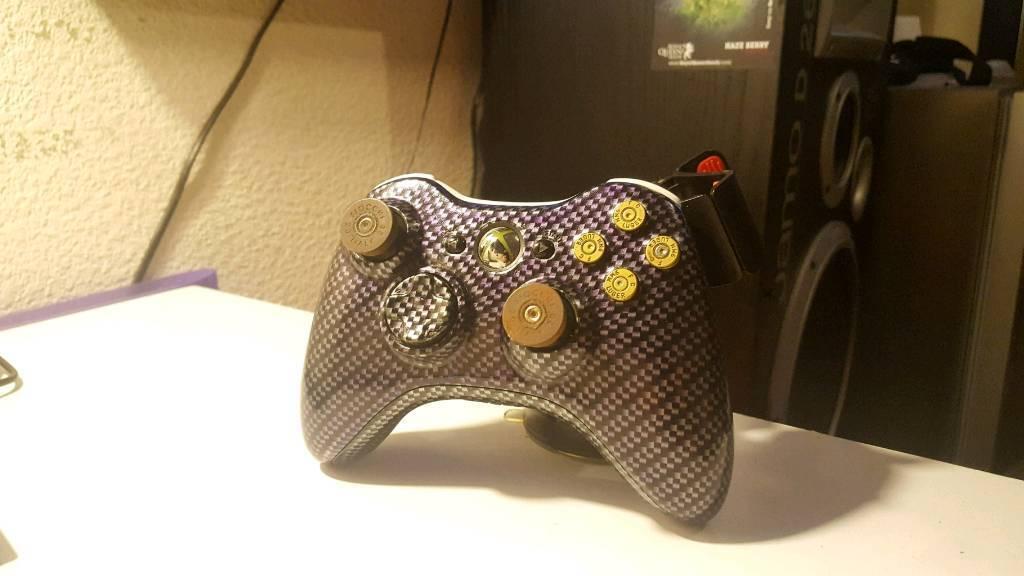 Xbox 360 custom build wireless control pad