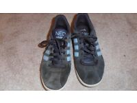 Mens blue Adidas Neo trainers size 7