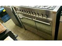 Smeg A1-7 100cm dual fuel smeg range cooker hardly used