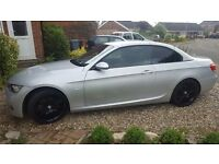 BMW 320i M sport convertible low miles