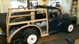 Morris Traveller frame wanted.
