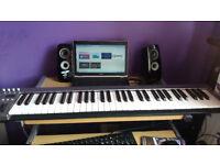 Acorn 61 keys usb midi keyboard